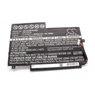 Batteria per Acer Aspire Switch 10E / SW3-013, 8050 mAh