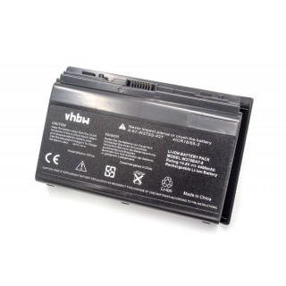 Batteria per Clevo W350 / W370, 4400 mAh
