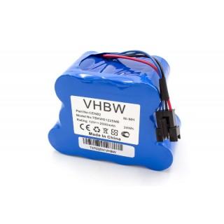 Batteria per Ecovacs Deebot D800 / D810 / D830, 2000 mAh