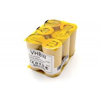 Batteria per Black & Decker DV7205, 3000 mAh