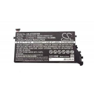 Batteria per Asus Transformer Book TX201LA, 4900 mAh