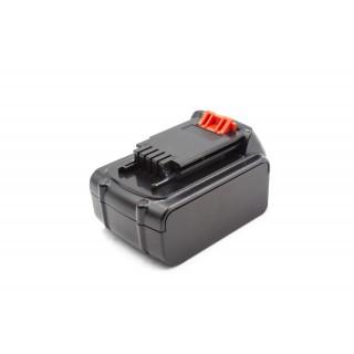Batteria per Black & Decker LB20 / LBX20 / LBXR20, 20 V, 4.0 Ah