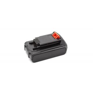 Batteria per Black & Decker LB20 / LBX20 / LBXR20, 20 V, 3.0 Ah