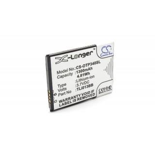 Batteria per Alcatel One Touch Pixi 3 4.0, 1300 mAh