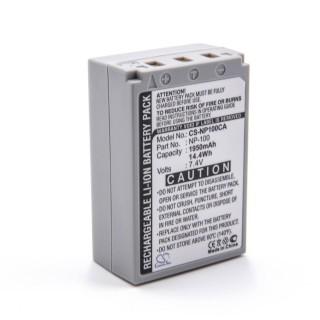 Batteria NP-100 per Casio Exilim Pro EX-F1, 1950 mAh