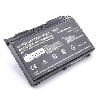 Batteria per Clevo P150 / P170, 4400 mAh