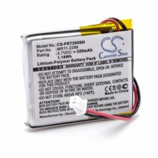 Batteria per Casio Smartwatch PRT-2GP, 320 mAh