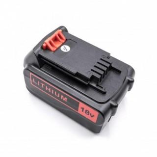 Batteria per Black & Decker BL1518 / BL2018, 18 V, 4.0 Ah