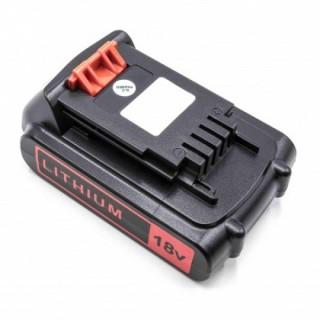 Batteria per Black & Decker BL1518 / BL2018, 18 V, 2.0 Ah