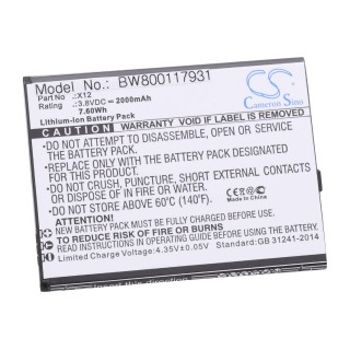 Batteria per Cubot X12, 2000 mAh