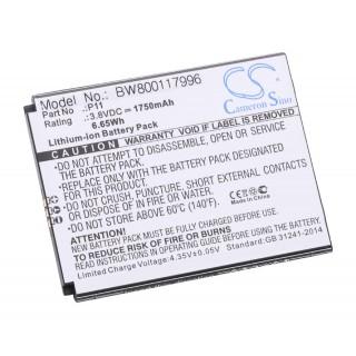 Batteria per Cubot P11, 1750 mAh