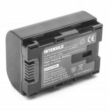 Batteria BN-VG107 per JVC Everio GZ-E100 / GZ-HD500 / GZ-MS110, 890 mAh