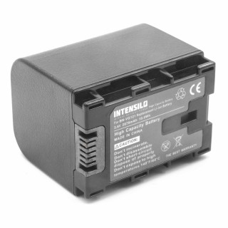 Batteria BN-VG121 per JVC Everio GZ-E100 / GZ-HD500 / GZ-MS110, 2670 mAh