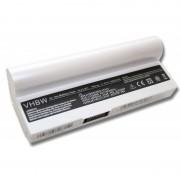 Batteria per Asus Eee PC 1000 / 1000H / 901 / 904, bianco, 6600 mAh