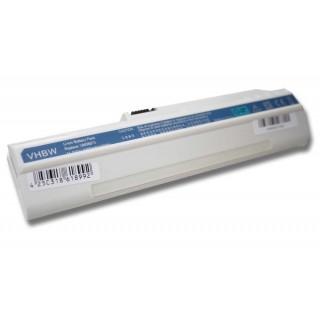 Batteria per Acer Aspire One A110 / A150 / D150 / D250, bianca, 4400 mAh