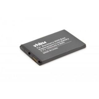 Batteria per Blackberry Bold 9000 / 9030 / 9220 / 9630 / 9700, 1500 mAh