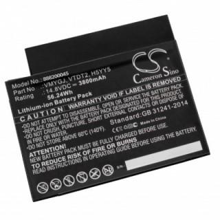 Batteria per Dell Inspiron One 20 3034, 3800 mAh
