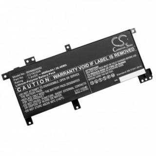 Batteria per Asus X456 / F455, 4800 mAh