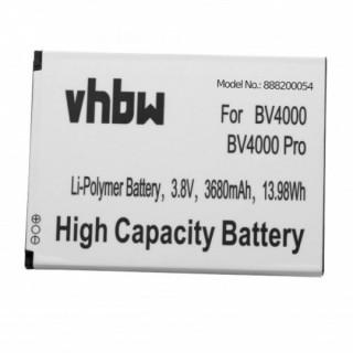 Batteria per Blackview BV4000 / BV4000 Pro, 3680 mAh