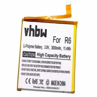 Batteria per Blackview R6, 3000 mAh