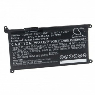 Batteria per Dell ChromeBook 3400 / 5488 / 5493 / 5593, 3400 mAh