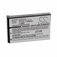 Batteria per Motorola MPM100, 1350 mAh