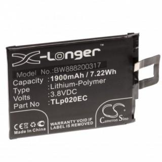Batteria per Alcatel One Touch Pop Up, 1900 mAh