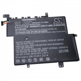 Batteria per Asus E203 / VivoBook E12, 4900 mAh