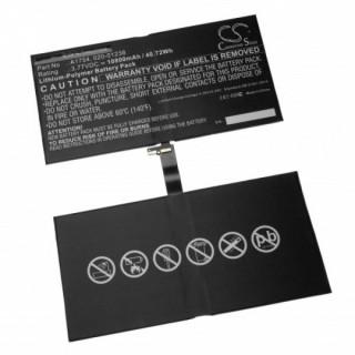 Batteria per Apple iPad Pro 12.9 (2nd gen.) / A1754, 10800 mAh