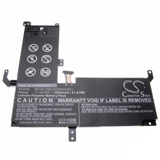 Batteria per Asus VivoBook Flip TP510, 3600 mAh