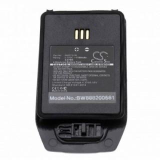 Batteria per Ascom D81 / DH5 / Avaya 3740 DECT, 1100 mAh