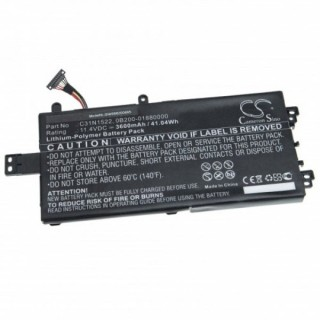 Batteria per Asus Q5535U, 3600 mAh