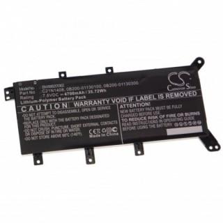 Batteria per Asus X555 / F555 / C21N1408, 4700 mAh