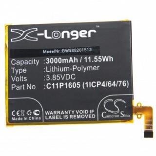 Batteria per Asus ZenFone 3 Deluxe / ZS550ML, C11P1605, 3000 mAh