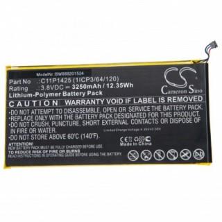 Batteria per Asus ZenPad 7.0 / Z370C / M700KL, 3250 mAh