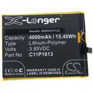 Batteria per Asus ZenFone 4 Selfie Lite / ZB520KL, 4000 mAh