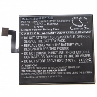Batteria per Amazon Kindle Paperwhite 4, 1500 mAh