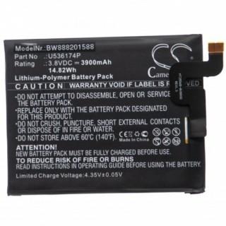 Batteria per Blackview BV9000 Pro, 3900 mAh