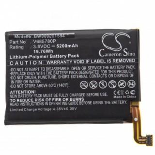 Batteria per Blackview BV5800, 5200 mAh