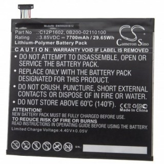 Batteria per Asus ZenPad 3S 10 / Z500KL, 7700 mAh