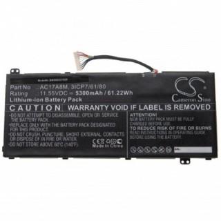 Batteria per Acer Spin 3 SP314-52 / TravelMate X3410-M, 5300 mAh