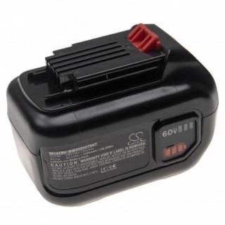 Batteria per Black & Decker LHT360 / LST560 / LSW60, 60 V, 2.5 Ah