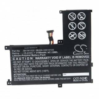 Batteria per Asus Q504U, 3100 mAh