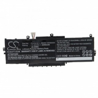 Batteria per Asus ZenBook UX433, 4250 mAh