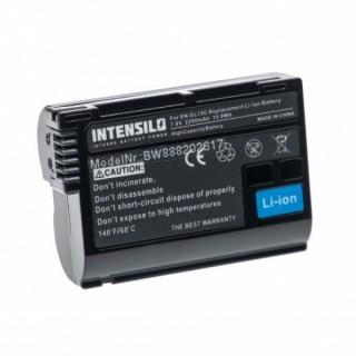 Batteria EN-EL15 per Nikon D600 / D800 / D800E / D7000 / D7100 / D8000, 2250 mAh