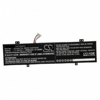 Batteria per Asus VivoBook Flip 14 / TP412, C31N1733, 3550 mAh
