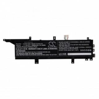 Batteria per Asus ProArt StudioBook Pro X W730G5T, 8000 mAh