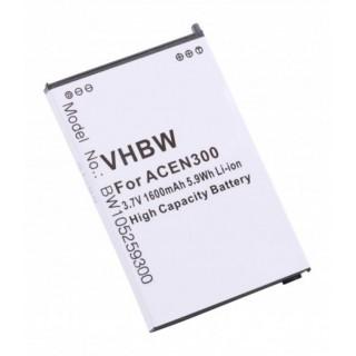 Batteria per Acer N300 / N500 / C500, 1600 mAh