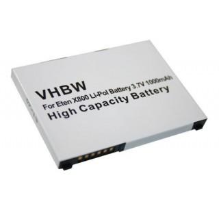 Batteria per Acer Tempo M900 / F900, 1000 mAh