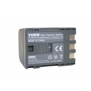 Batteria BP-2L12 per Canon MV3 / MV900 / HV20, 1200 mAh